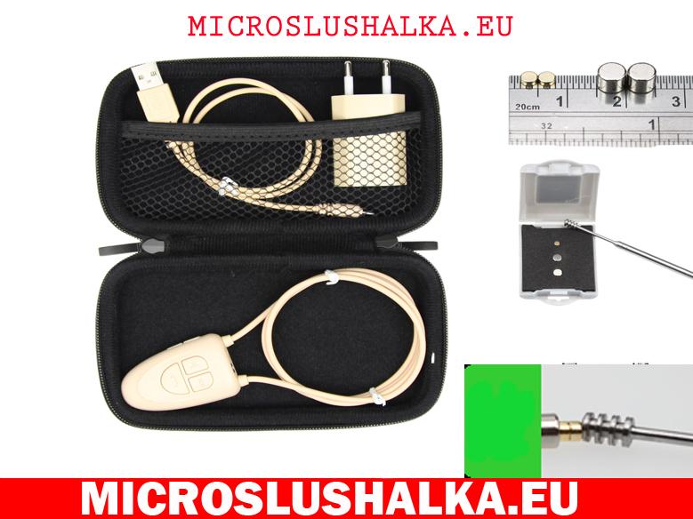 безжична микрослушалка с магнити